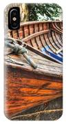 Wood Boat IPhone Case