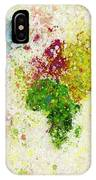 World Map Painting IPhone Case