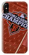 World Series Medallions IPhone Case