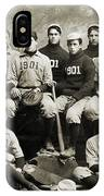 Yale Baseball Team, 1901 IPhone Case