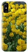 Yellow Tulips 2 IPhone Case