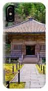 Zen Garden At A Sunny Day IPhone Case