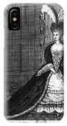 Marie Antoinette (1755-1793) IPhone Case