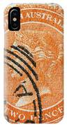old Australian postage stamp IPhone Case