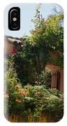 Gardens In Carmel Monastery IPhone Case