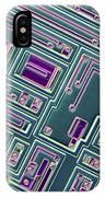 Microchip, Light Micrograph IPhone Case