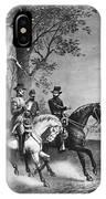Lees Surrender, 1865 IPhone Case