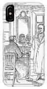 Johann Goethe (1749-1832) IPhone Case