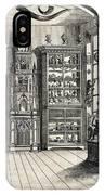 1788 Richard Greene's Museum At Lichfield IPhone Case