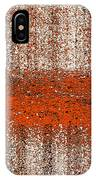 Color Rust IPhone Case