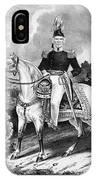 Zachary Taylor (1784-1850) IPhone Case