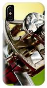 1914 Rolls-royce Silver Ghost Controls IPhone Case
