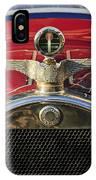 1915 Brewster-knight Model 41 Landaulet Hood Ornament 2 IPhone Case