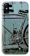 1918 Harley Davidson Bicycle IPhone Case