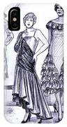 1920s British Fashions IPhone Case