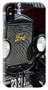 1925 Ford Model T Coupe Grille IPhone Case