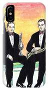 1927 New Yorkers Jazz Band IPhone Case
