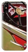 1929 Graham-paige Model 837 Lebaron Sport Phaeton Steering Wheel IPhone Case