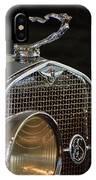 1929 Lasalle Hood Ornament IPhone Case
