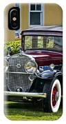 1931 Cadillac V12 IPhone Case