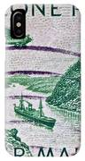 1931 Canal Zone Stamp IPhone Case