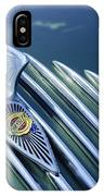 1934 Chrysler Airflow Hood Ornament IPhone Case