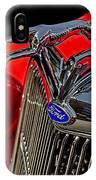 1936 Ford Model 48 Emblem IPhone Case