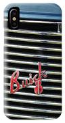 1937 Buick Grille Emblem IPhone Case