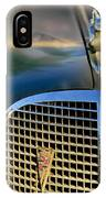 1937 Cadillac Hood Ornament And Grille IPhone Case