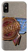 1937 Chrysler Airflow Emblem IPhone Case