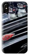1939 Lincoln Zephyr Engine IPhone Case
