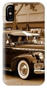1940 Chevrolet Special Deluxe - Sepia IPhone Case