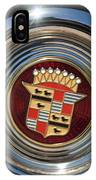 1947 Cadillac Emblem 2 IPhone Case