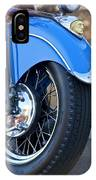 1948 Indian Chief Motorcycle Wheel IPhone Case