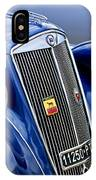 1952 Lancia Ardea 4th Series Berlina Grille Emblems IPhone Case