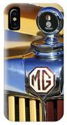 1953 Mg Td Hood Ornament IPhone Case