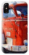 1954 American Lafrance Classic Fire Engine Truck IPhone Case