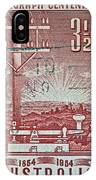 1954 Centenary Of Australian Telegraph Stamp IPhone Case