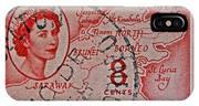 1954 North Borneo Stamp IPhone Case