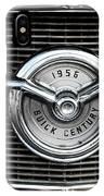 1956 Buick Century Grill Emblem IPhone Case