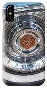 1956 Cadillac Front Wheel IPhone Case