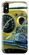 1957 Chevy Bel Air Dash IPhone Case