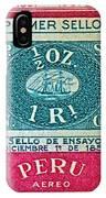 1957 Peru Ten Centavos Stamp IPhone Case