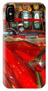 1959 Cadillac At The Pumps IPhone Case