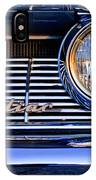 1961 Pontiac Catalina Grille Emblem IPhone Case