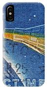 1962 Man In Space Stamp IPhone Case