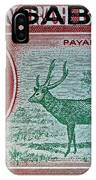 1964 North Borneo Sabah Stamp IPhone Case