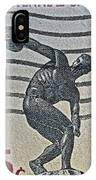 1965 Physical Fitness Stamp IPhone Case