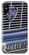 1967 Lancia Fulvia Berlina Grille Emblem IPhone Case