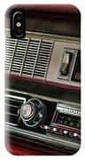 1967 Oldsmobile Cutlass 4-4-2 Dashboard IPhone Case